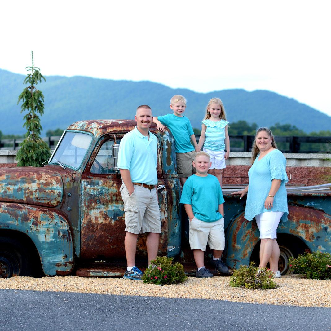 Family Portrait Near Massanutten Village