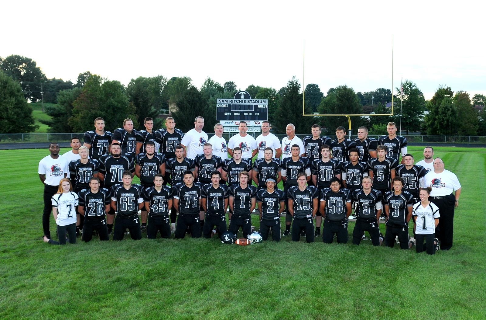 Turner Ashby High School Football Team Photography